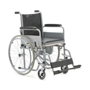 Кресло-коляска с санитарным оснащением для инвалидов «Armed» FS682
